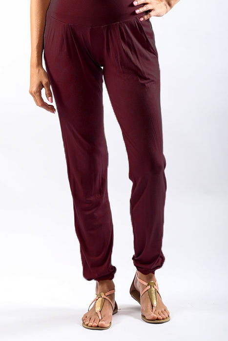 Maroon Harem Pants Front__v1_web