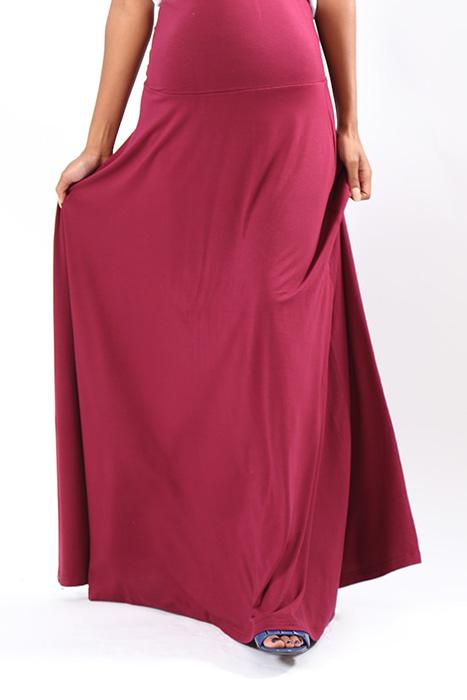 mandy skirt burg full length front 3