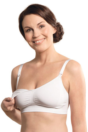 Seamless adjustable nursing bra