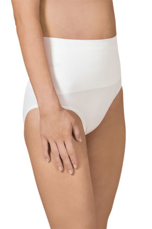 Seamless post birth support panty