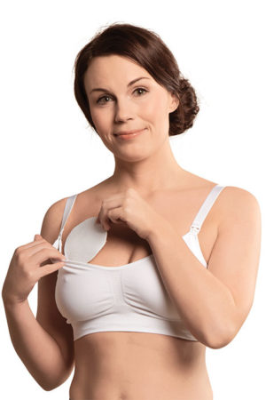 Soft touch cotton washable breast pads